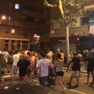tensió La Verneda Barcelona @VernedaDenuncia