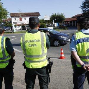 Policia francesa, policia espanyola Biarritz cimera G7 - EFE