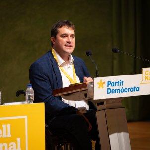 El presidente del PDeCAT David Bonvehí declara en el Consell Nacional del PDeCAT de Barcelona Europa Press