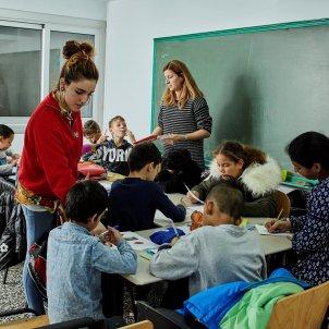 Explotació infantil obra social la Caixa