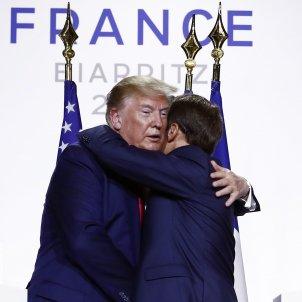 Trump Macron- EFE