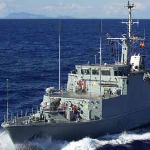 buque cazaminas turia armada española
