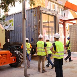 contenidors habitatges provisionals Barcelona Gotic ACN