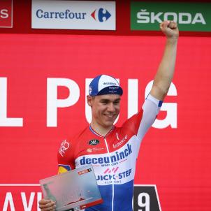 Jakobsen La Vuelta EFE