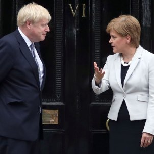 Sturgeon Boris Johnson Europa Press