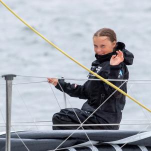 Greta Thundberg Nova York EFE