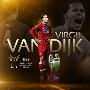 van dijk liverpool @ChampionsLeague