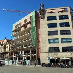 Edifici obres Girona pisos ACN
