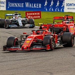 Leclerc campio GP Belgica f1 efe