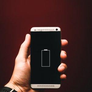 Batería móvil Unsplash