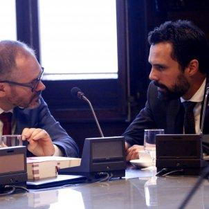 Josep Costa Roger Torrent Mesa Parlament ACN