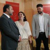 Ábalos, Rufián, Lastra reunió 2   EFE