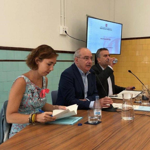 Josep Bargalló, Núria Cuenca I Carles Martínez Educació @educaciocat