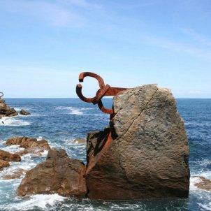 Peine del viento Eduardo Chillida San Sebastián  - Wouter Homs