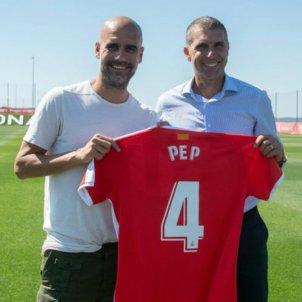 Pep Guardiola Girona delfi geli @gironafc