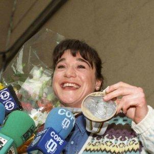 Blanca Fernández Ochoa medalla bronze