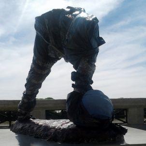Leo Messi estàtua Efe