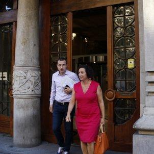 Alicia Romera reunió Economia pressupostos - ACN