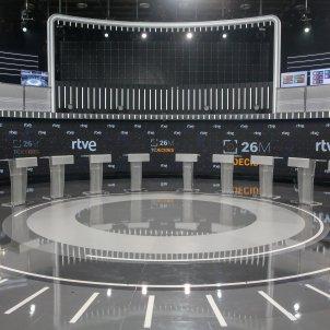 Debate electoral de RTVE - Europa press