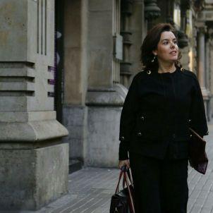 Soraya Sáenz de Santamaría Sergi Alcàzar més petita