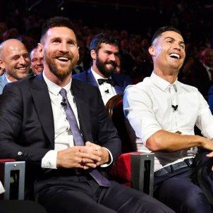 Messi Cristiano van dijk rient Gala @uefa