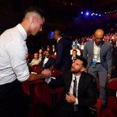 Messi Cristiano ma gala @uefa