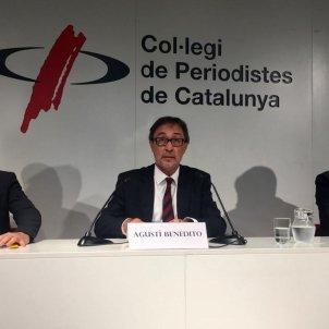 Agusti Benedito Colegi periodistes Catalunya Bernat Aguilar
