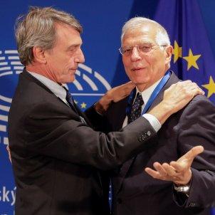 Josep Borrell DAvid-Maria Sassoli president Parlament Europeu - Efe