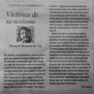 víctimas sexismo correo gallego