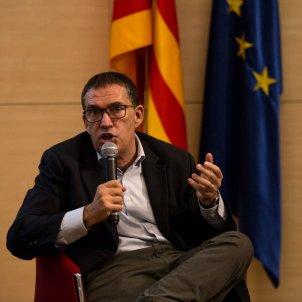 Jaume Alonso Cuevillas Acte Catalunya al món Foreign friends - Sira Esclasans i Cardona