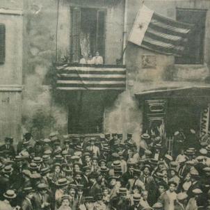 Diada 1914. Fossar de les Moreres. Font Pinterest