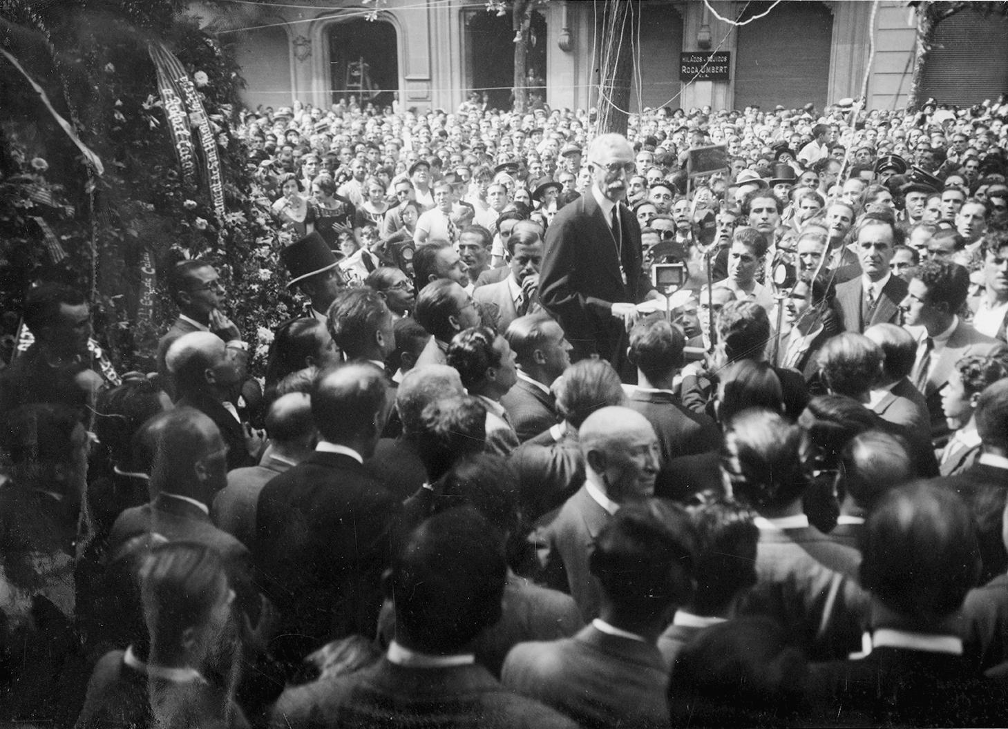 Diada 1932. Fuente Archivo Municipal de Barcelona