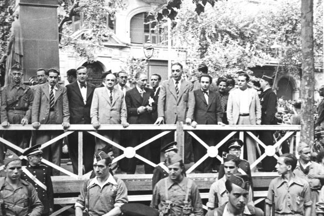 Diada 1936. Foto J. Dominguez. Fuente Archivo Historic del Ayuntamiento de Barcelona