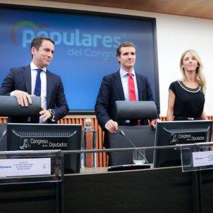 Pablo Casado i Cayetana Alvarez Toledo   Europa Press
