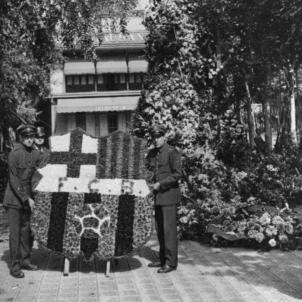 Ofrenes florals Barça Rafael Casanova 1923 1935 Barça FC Barcelona