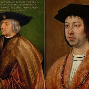 Maximilià d'Habsburg i Ferran de Trastàmara