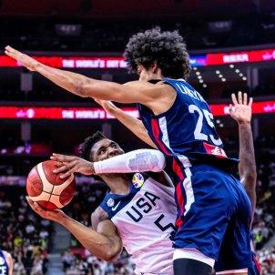 Mitchell Labeyrie Estats Units França Mundial bàsquet EFE