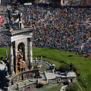Plaça Espanya Manifestació diada - Sergi Alcàzar