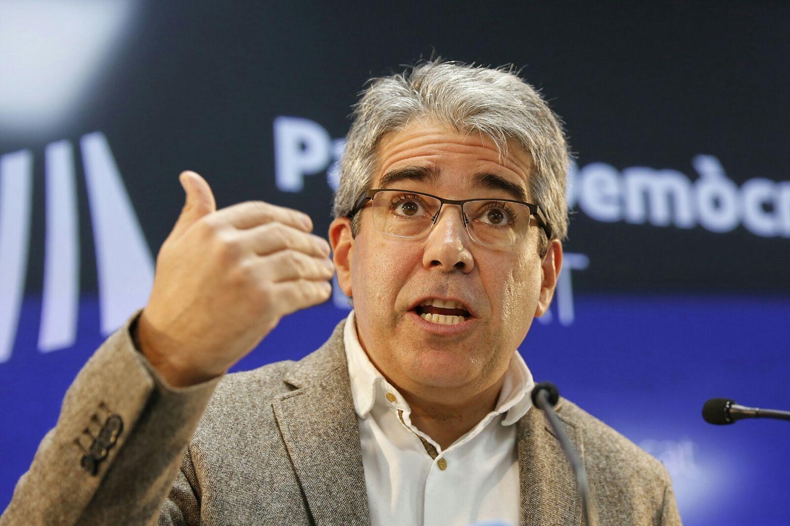 Francesc Homs enfadat / Sergi Alcàzar