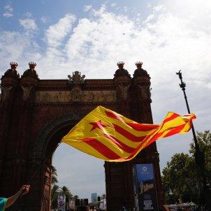manifestacio diada 2019 arc de triomf estelada - Sergi Alcàzar