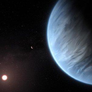 exoplaneta K2 18b ESA