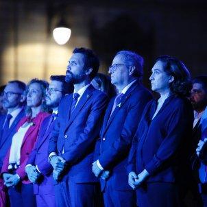 Quim Torra Roger Torrent Ada Colau Acte Institucional Diada 2019 - Sergi Alcàzar