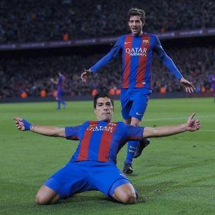 Suarez Sergi Roberto Camp Nou EFE