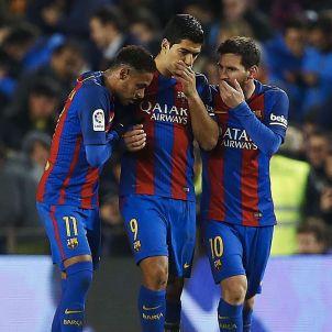 Messi Suárez Neymar Camp Nou EFE
