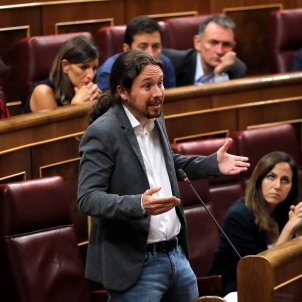 Pablo Iglesias Unidas Podemos congrés EFE