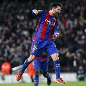 Leo Messi CAMP NOU EFE