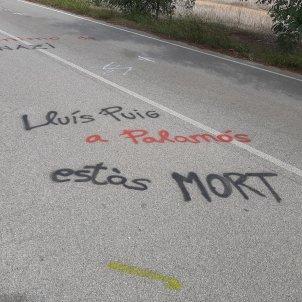 amenaça mort palamos - @PereRF