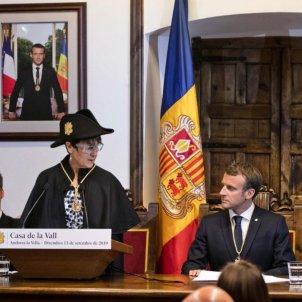 Macron Casa de la Vall Andorra @governandorra