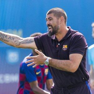 Victor Valdes Juvenil A Barca @FCBMasia
