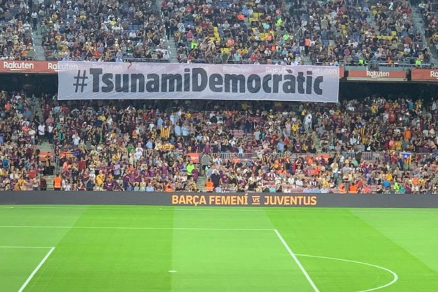 tsunami democratic elnacional camp nou